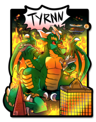 BLFC Badge - Tyrnn