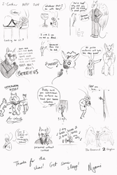 Kage & 2 Charity Show Doodles MFF 2014