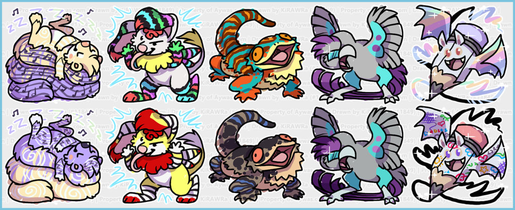 Most recent image: Aywas: Scribble Coin Babies 1