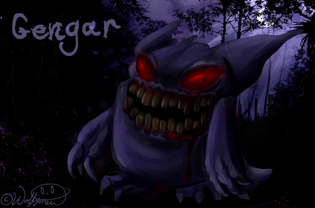 Nightmare Pokemon 1 Gengar