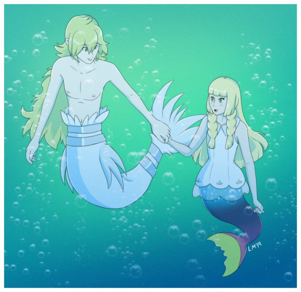 Swim along