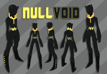 nullvoid - low poly second life avatar