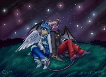 Stargazing: Slightly Damned Fanart