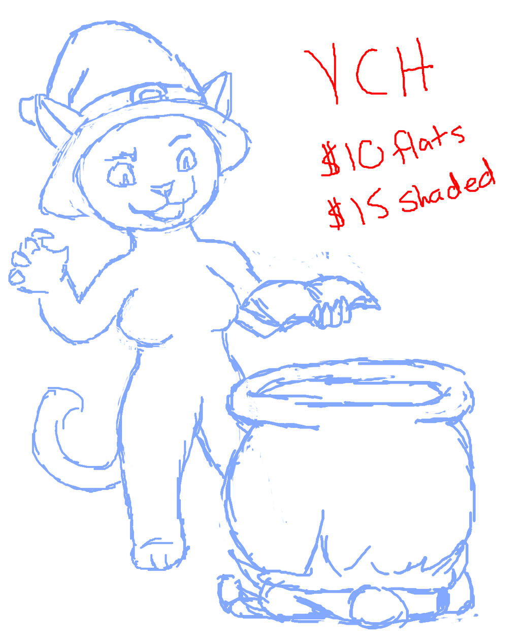 YCH - Witch OPEN TIL HALLOWEEN