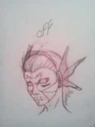 Off Headshot Sketch