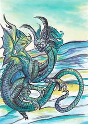 Blue-green Dragon