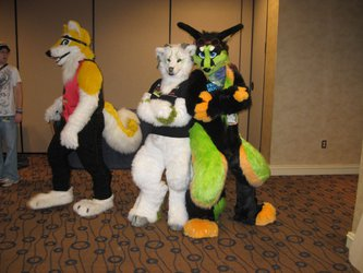 FWA 2012 - Day 2 - Group Fursuit Photo 3 [DATA MISSING]