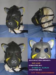 Painted Gas Mask: Sir Ukie