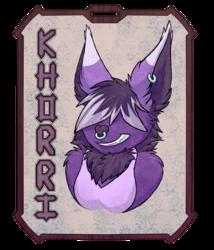 New badge for Khorri