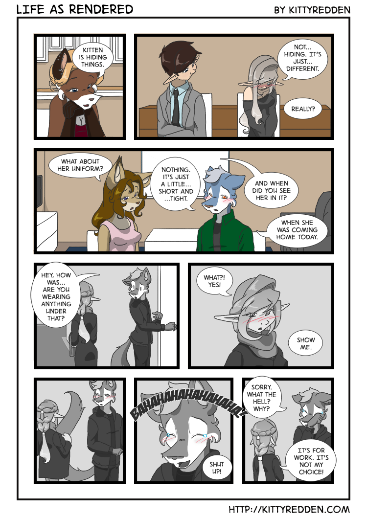 Most recent image: Life As Rendered - A05P16