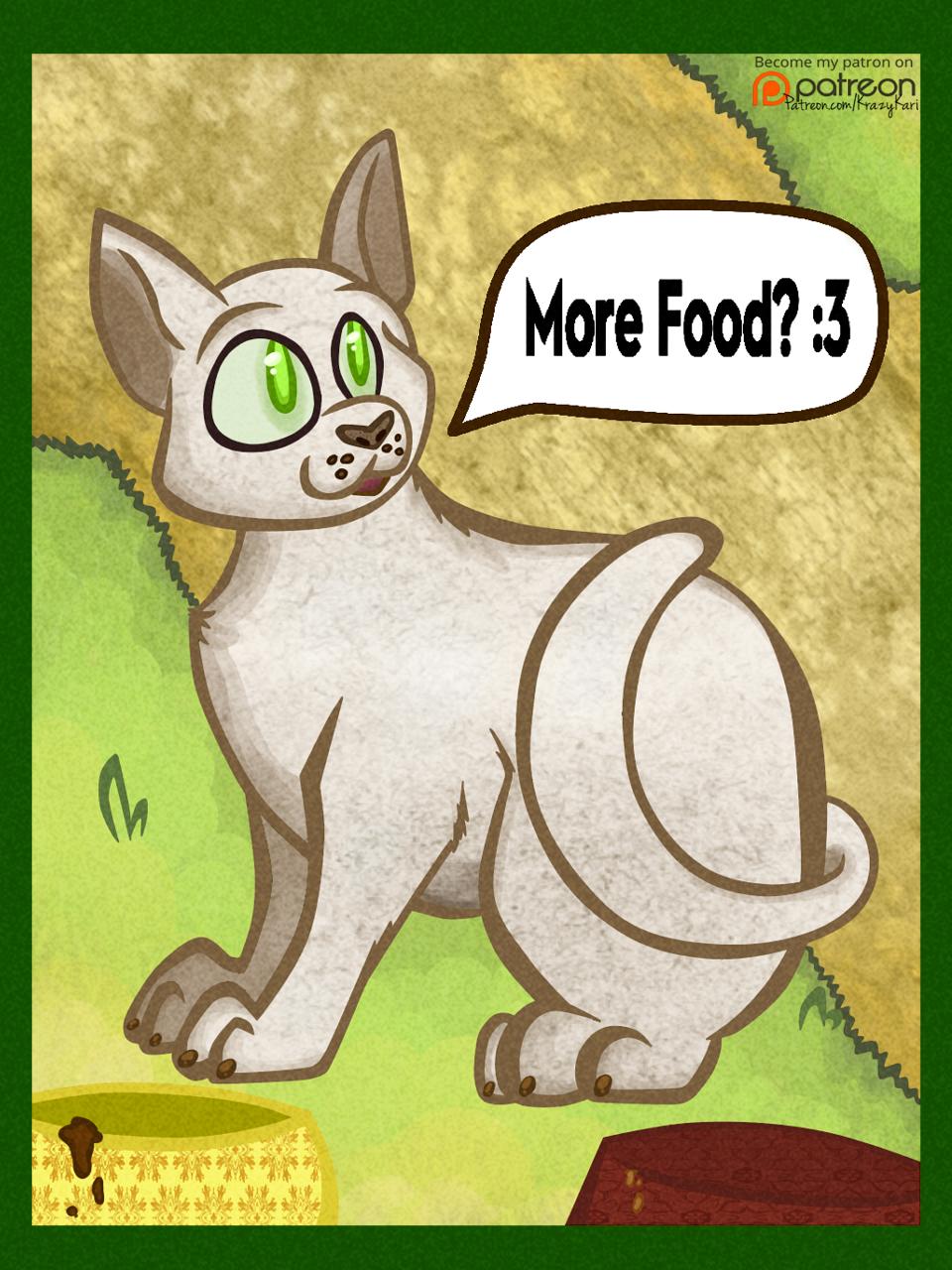 (Neko Atsume) Tubbs the Cat