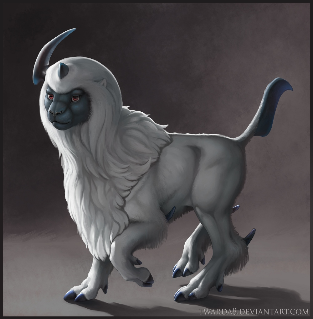 Most recent image: Realistic Absol