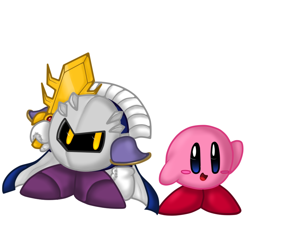 Kirby and Meta Knight