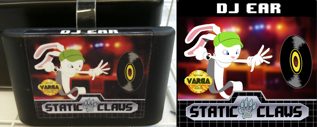 DJ Ear [cartridge badge]