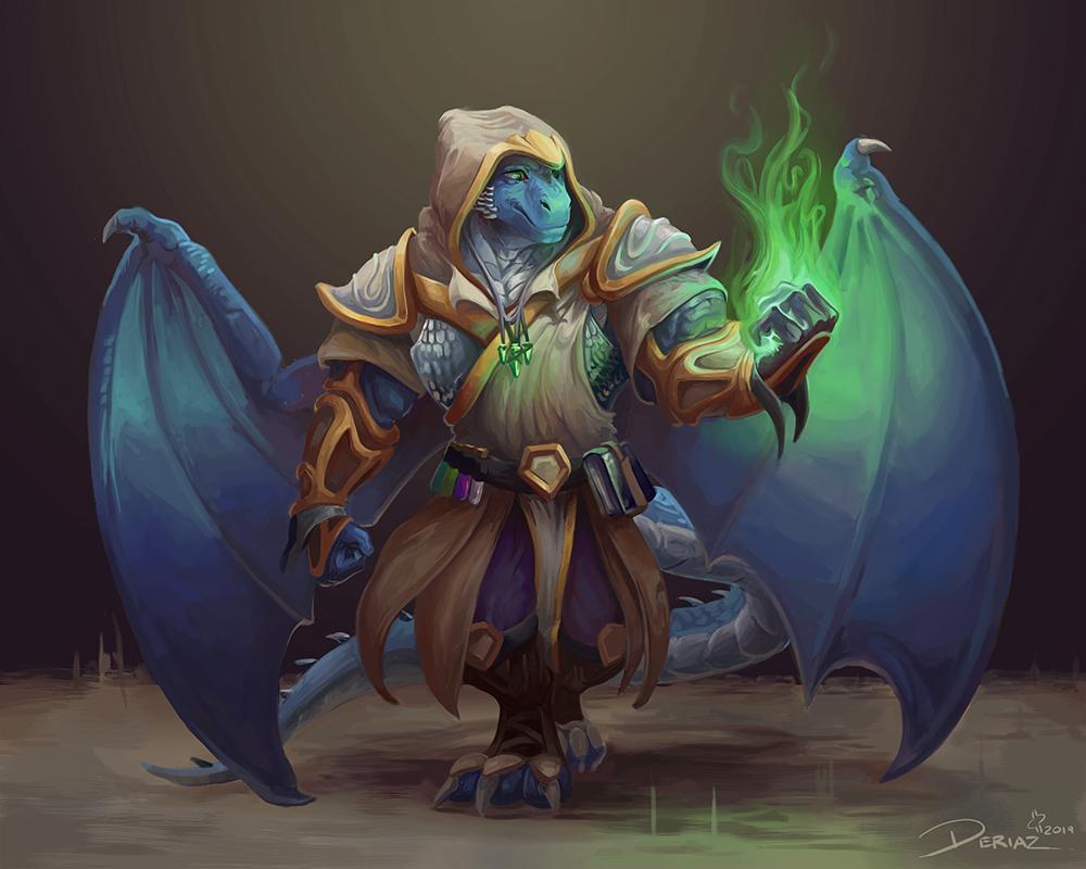 Draeneth - Battlemage