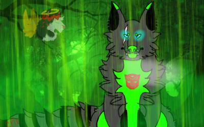 Acid rain (gift new character for a friend)