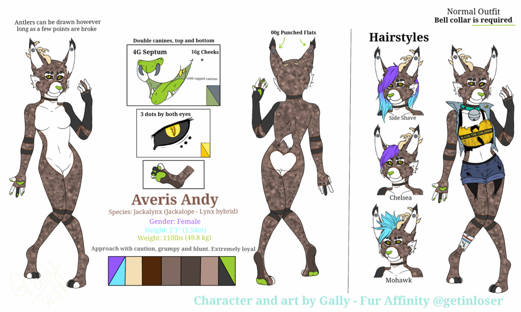 Most recent image: Averis Andy - Reference Sheet