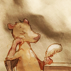 Rat in Repose