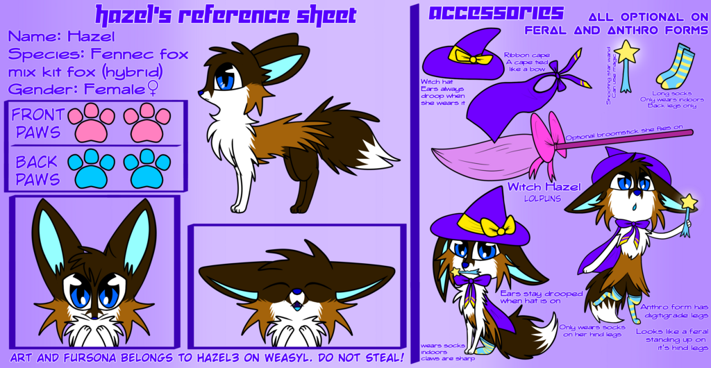 Hazel's Reference Sheet V2