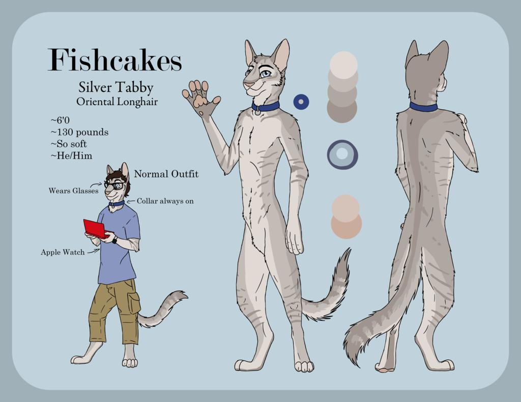 Fishcakes Kitty Ref