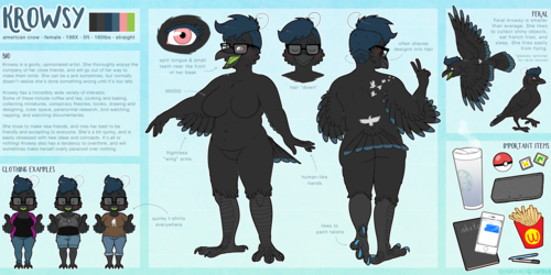 Krowsy Reference Sheet '16