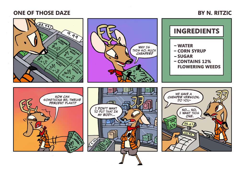 Most recent image: One of those Daze 1