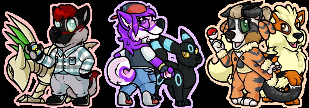 Itty Bitty Pokemon Trainers