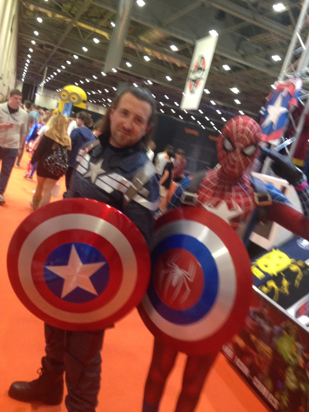 # my big brother is Captain America