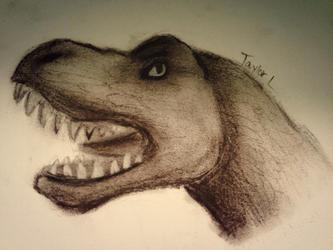 Charcoal T-Rex