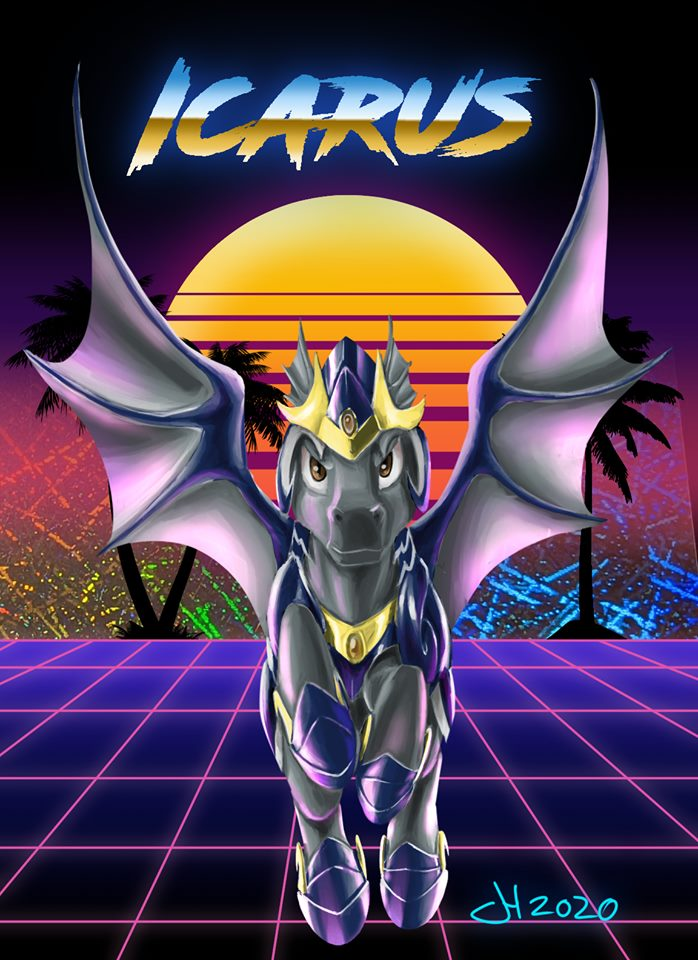 Most recent image: Icarus FE2020 Badge