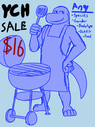 BBQ Grill YCH [2 Slots Left]