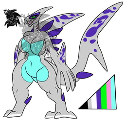 Female Shark Lugia +Design 4 Sale+