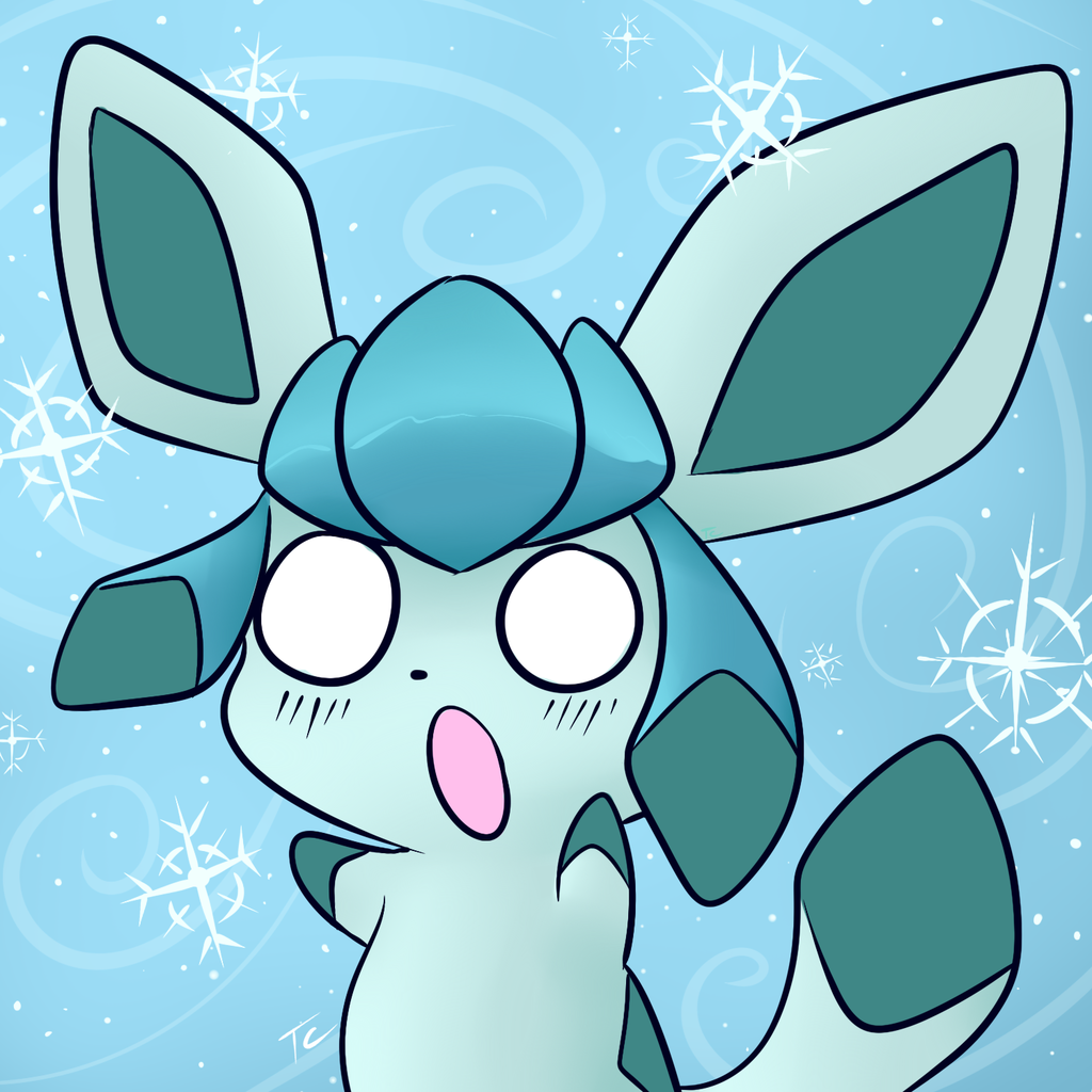 Super Cute Glaceon Chibi GO!