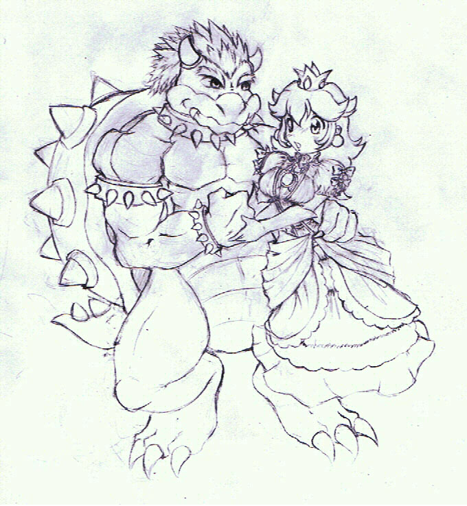 BowserxPeach(old picture)