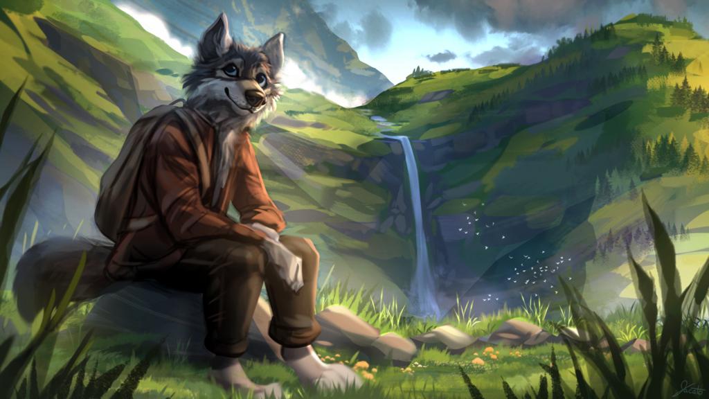 Waterfall by Jacato