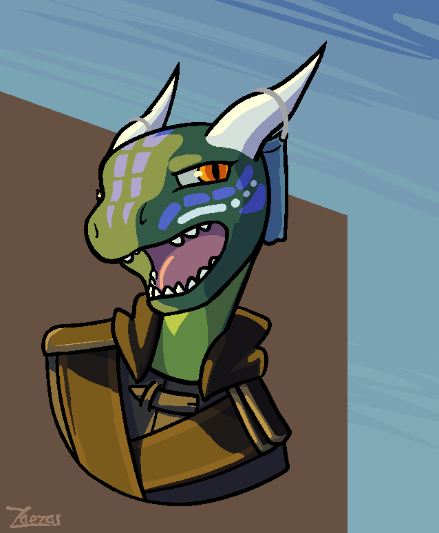 [Patreon] Annoyed Lizard Folk