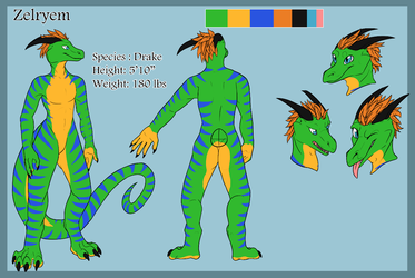 Zelryem Ref Sheet (by zannathedragon)