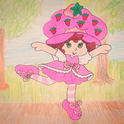 Dancing Strawberry Shortcake