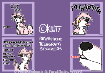 RMYHuskie Telegram Stickers 2
