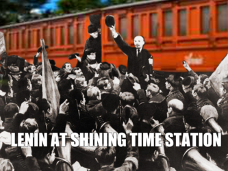 Lenin At The Shining Time Station