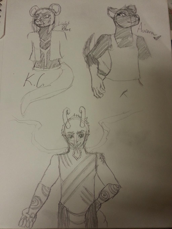 Character Sketch Sheet 2