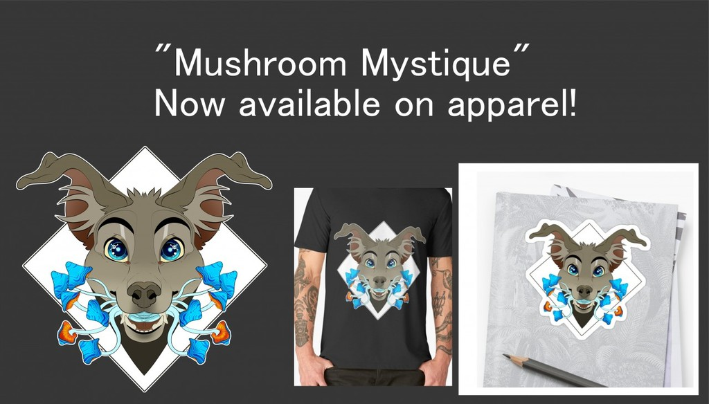Mushroom Mystique Merch!!