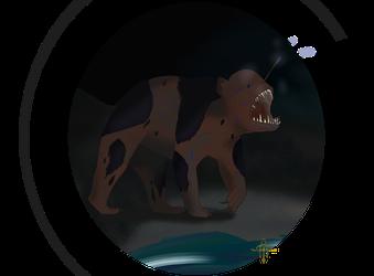 Anglerfish + Black bear