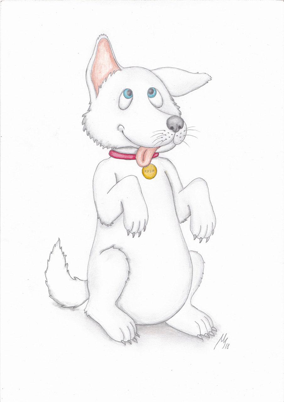 Dorky pup