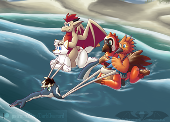 [COM-2019-02] Off From the Beach!
