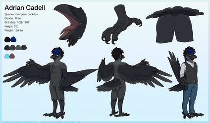Adrian Cadell Reference Sheet