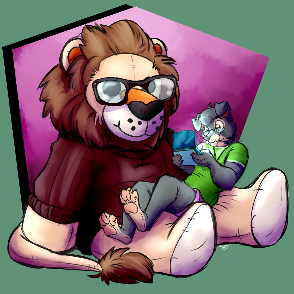 Most recent image: Playing with my plush!