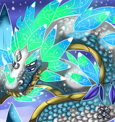 Icecream, the Ice Dragon master.