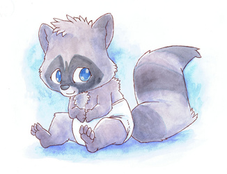 Astolpho Commission -  Baby Coon