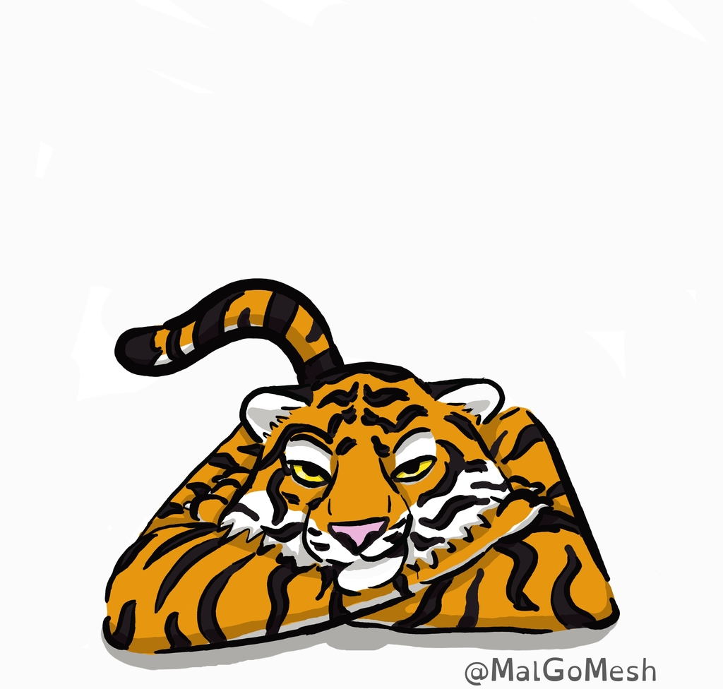 Most recent image: Tiger Relaxing